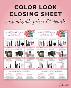 "Have you been looking for a set sheet specifically designed for the second  appointment? Then this is the sheet for you! A variety of color sets that  will appeal to any customer! You can customize the prices of the sets, as  well as the details of the ""deals & steals""! Make it yours!!   This sheet also features the NEW Semi-Matte Lipstick & the Revealing  Radiance Facial Peel, which are soon to be instant hits at your parties!  You can find the sheet HERE!  Enjoy!"