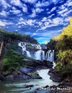 Cachoeira de Tombos, Minas Gerais, Brazil