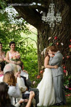 Jill & Josh's Wedding Trailer - Shabby Chic Wedding