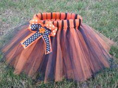 Girl's Auburn Tigers TuTu  Orange and Navy Blue or by lilsydneybug, $20.00
