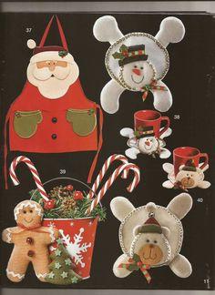 Kawaii, Christmas Ornaments, Holiday Decor, Home Decor, Garden, Sewing Ideas, Wreaths, Mugs, Carpet