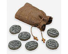 One Bag of 6 Faith Stones #92/527 | Wholesale Accessory Market