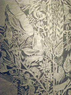 paper cutting~ by Barbara Klunder
