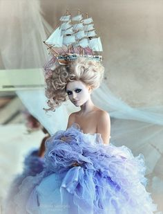 My Marie Antoinette obsessions is freaking out...love love love!