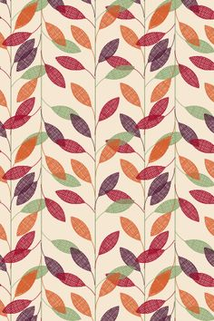 Vector illustration leaves of palm tree Seamless pattern Fall Patterns, Pretty Patterns, Beautiful Patterns, Fall Wallpaper, Wallpaper Backgrounds, Iphone Wallpaper, Leaves Wallpaper, Print Wallpaper, Motifs Textiles