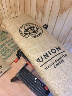 Coffee sack sound baffle