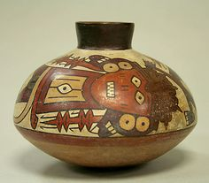 Jar Date: 1st–6th century Geography: Peru Culture: Nasca Medium: Ceramic