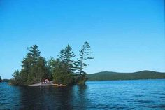 Island camping on Saranac Lake in the Adirondacks, just 5 hours from us. Definitely on this year's camping list.