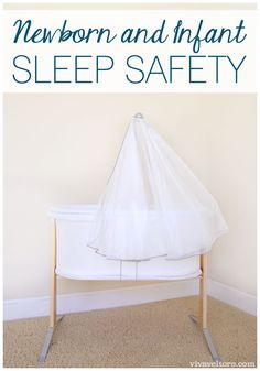 Newborn and Infant Sleep Safety. Are you following the recommended guidelines?