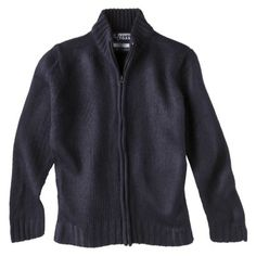 French Toast® Boys' Zipper Front Cardigan Sweater