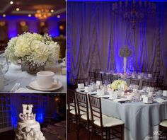 Wedding Day | Reception | Centerpieces | Wedding Cake | Winter Wedding | Love © Matt Ramos Photography