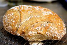 No-knead bread. #vegan