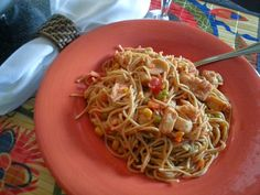 HEALTHY EATING  - Grilled Chicken-Spaghetti Casserole ...SONG THAT DOESN'T END