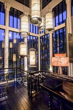 DA NANG, VIETNAM  Devised by Bangkok-based designer Bill Bensley as part of the Intercontinental Danang Sun Peninsula Resort, the interiors of La Maison 1888 offer a spirited take on French Colonial architecture, focused through a contemporary lens.