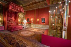 Bedkamer koning-stadhouder Willem III - The Royal Bed Paleis het Loo | with Desso carpet (Menno Mulder Photography)