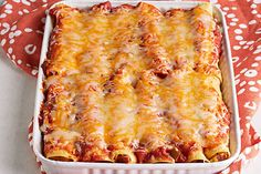 Eggs and hot dogs? It all makes sense when you take one bite of this crowd-pleasing Enchilada Egg Bake made with beef franks and cheese.