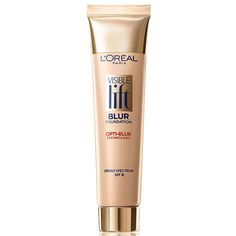 It's a foundation and blur cream in one. The medium-coverage base also contains light-diffusing silicones to soften the look of fine lines with one swipe./