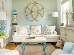 Affordable tips on how to make your home more colorful.