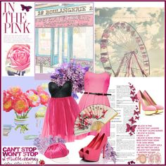 """""""In the Pink"""" by goldgoldiel on Polyvore"""