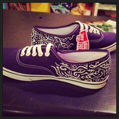 Custom vans from etsy