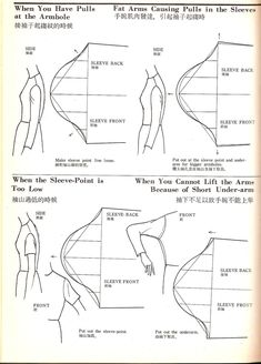 Fitting problems #sewing #sleeves