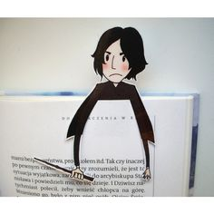Snape - Marque-page Harry Potter via Etsy. Rogue Harry Potter, Objet Harry Potter, Snape Harry Potter, Harry Potter Love, Severus Snape, Creative Bookmarks, Diy Bookmarks, Printable Bookmarks, Printables