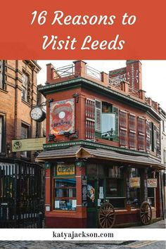 Things to do in Leeds places to see in Leeds Trips from London Katya Jackson Blog  Uk Travel, Yorkshire, England Travel, London trips, Trips from London, #Leeds #England #Yorkshire