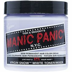 "If I went blonde...After bleaching hair, apply this ""lavender"" dye to transform your color from dull yellow to a striking shade of peroxide blonde. And since it's semi-permanent and all natural, it won't further damage your hair. Get it for $9.99 from Sally's Beauty Supply. - Manic Panic Virgin Snow"
