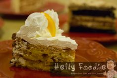 Mango Walnut Torte of The Kitchen of Cakes and Coffee