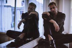 Matthias Schoenaerts photographed by Serge Leblon for L'Officiel Hommes Italia.