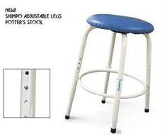 Shimpo Adjustable Potter's stool