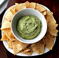 Green Garbanzo Hummus - Vegan