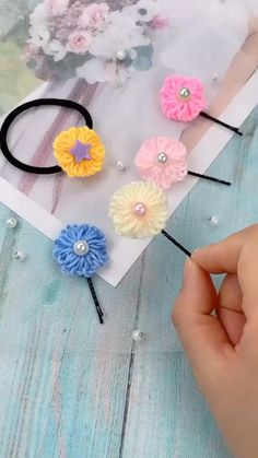 Kids Crafts, Diy Crafts For Kids Easy, Diy Crafts Hacks, Diy Crafts For Gifts, Yarn Crafts, Kids Diy, Easy Diy, Fabric Crafts, Creative Arts And Crafts
