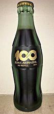 RARE 1986 Japan Coca Cola 100 Centennial Celebration FROSTED Coke Bottle
