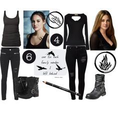 My Halloween costume :) Divergent Costume, Divergent Outfits, Divergent Fashion, Fandom Outfits, Edgy Outfits, Outfits For Teens, Cool Outfits, Fashion Outfits, Dauntless Clothes
