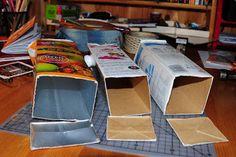 Villmarkshjerte: Hvordan lage en melkekartong-lommebok!!! Canning, Crafts, Home Canning, Crafting, Handmade Crafts, Diy Crafts, Arts And Crafts, Craft, Conservation