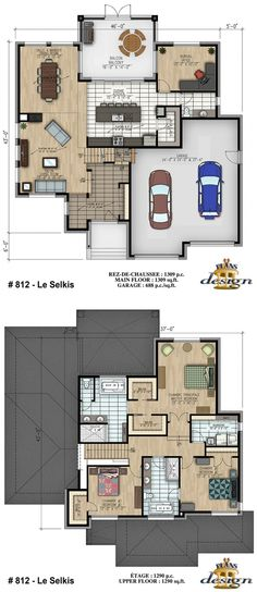 812 - Le Selkis Cottage | Plans Design