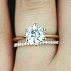 12 ct Promise Ring Engagement Ring Round Solitaire Ring Man Made