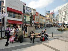 Main Square in Jiyugaoka suburb of Tokyo
