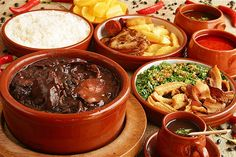 "Bolinha, restaurant: probably NOT the best ""feijoada"" in town. But if you're not in Sao Paulo in a Wednesday or Saturday (the typical feijoada's days), you can eat the most traditional brazilian dish here, everyday. > Avenida Cidade Jardim, 53 – Jardim Europa"