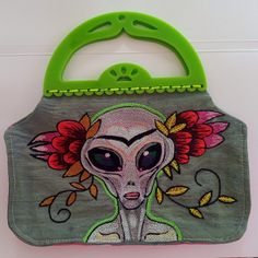 A witty little handmade handbag to keep your things in. Totally unique. Email me at grootpronk@gmail.com if interested Handmade Handbags, Wearable Art, Valentine Gifts, Originals, Unique, Accessories, Handmade Bags, Gifts For Valentines Day, Handmade Purses