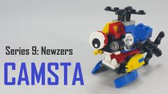 How To Build   LEGO Mixels   Series 9   41579 Camsta