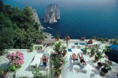Italian villa Il Canile | La Dolce Vita by Slim Aarons