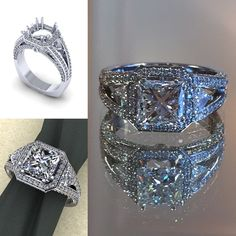 The Knot - Stardust Jewelers of Mendon Wedding Bands and Engagement Rings Custom Jewelry Design, Custom Design, Bridal Collection, Perfect Wedding, Wedding Bands, Knot, Fine Jewelry, Engagement Rings, Jewels
