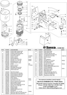 espresso maker diagram coffee effects and diagrams pinterest rh pinterest com