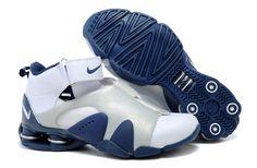 b041d896d9ae Nike Shox Vince Carter Basketball Shoes white Silver blue- 120.89 Mens Nike  Shox
