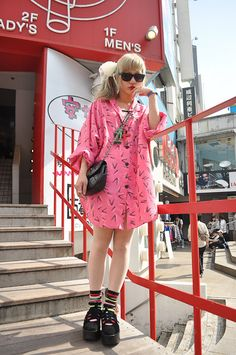 I love the shirt-dress!!