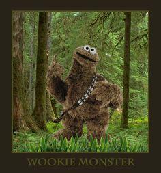Wookie Monster.