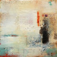 encaustic #white #paintings