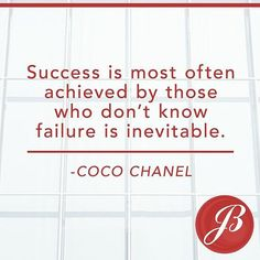 Don't let the fear of failure hold you back! #reexpert #jillboudreau #wellesley #wellesleylife #success